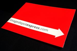 Red Image Depot Express catalog front photo.