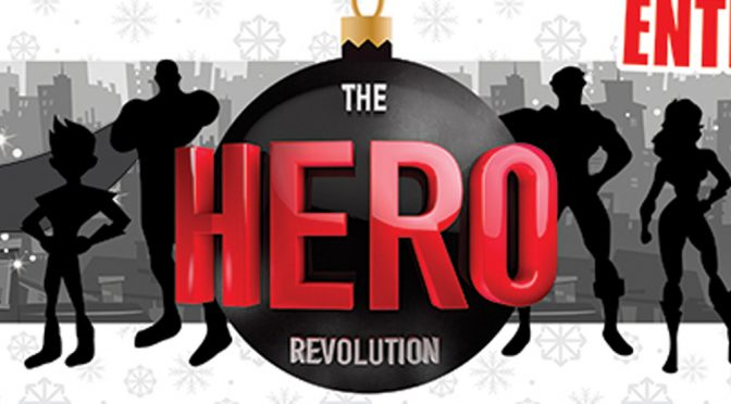 Omegaman HERO Revolution Christmas Banner
