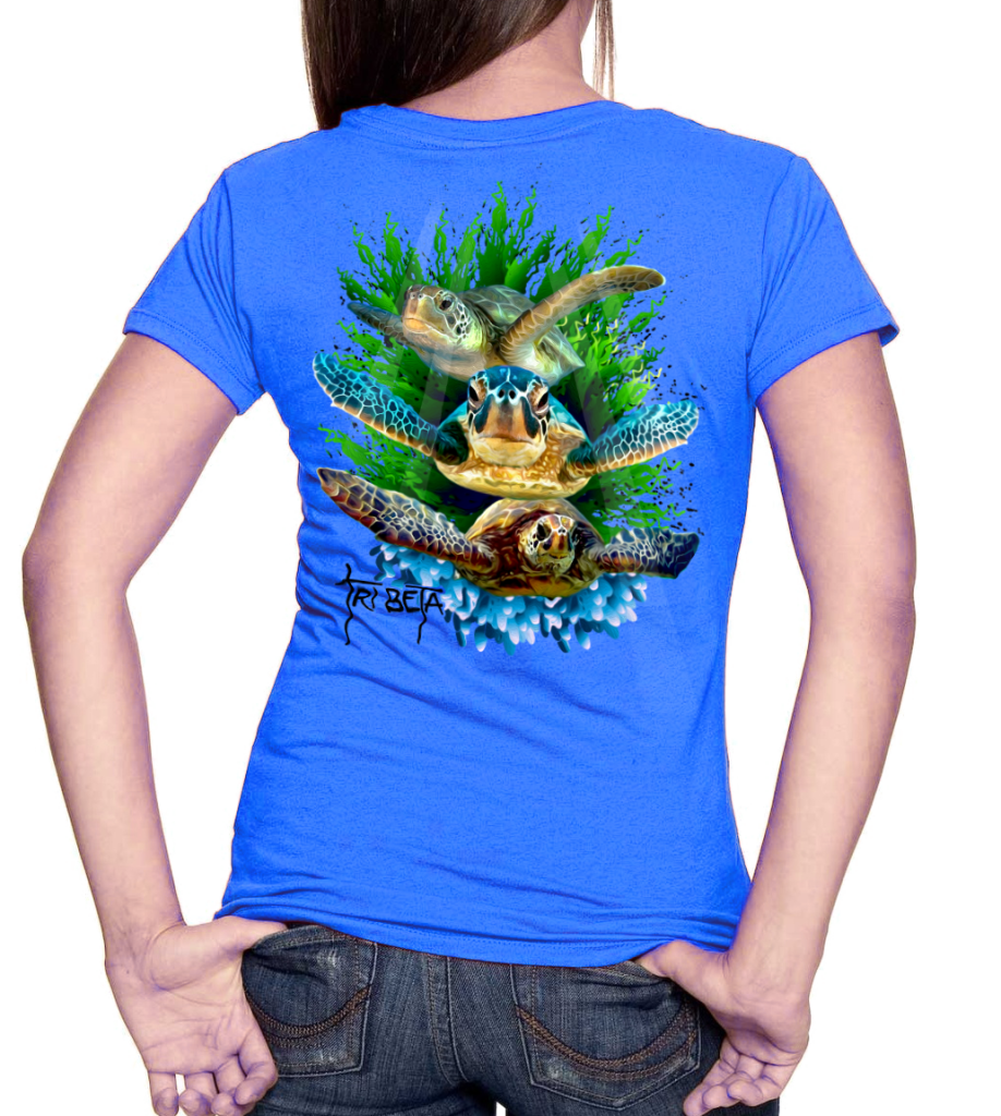 TRI-BETA Guy Harvey-esque t-shirts