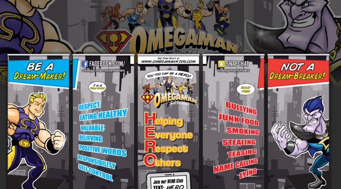 Omegaman Retractable Banner Set