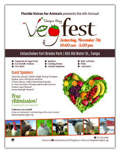 tampa bay vegfest flyer