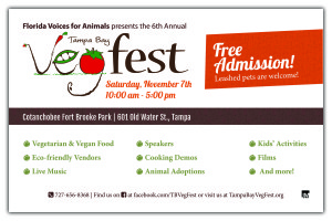 tampa bay vegfest half-page flyer