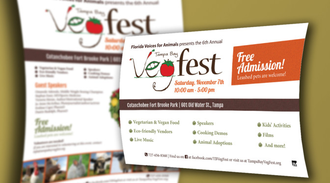 Tampa Vegfest Flyers