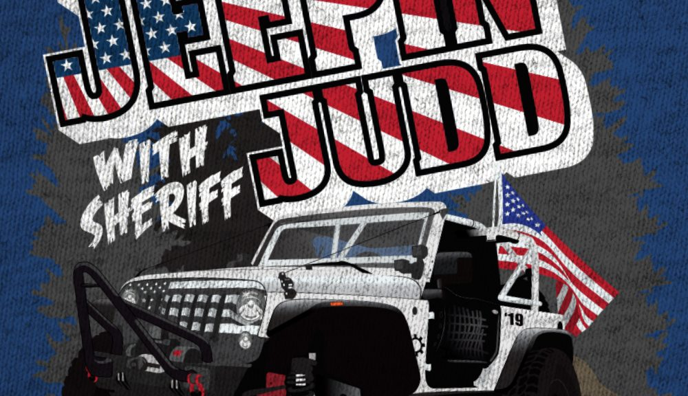 Jeepin with Judd Event Shirt Design Featured